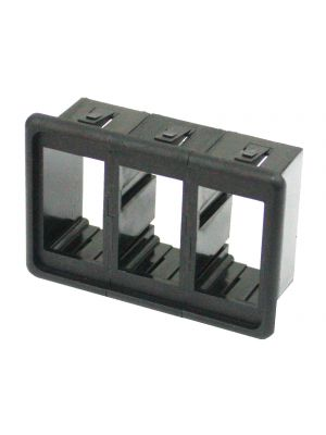 Switch Panel 3500C Carling Type Triple Switch Holder